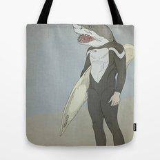 SHARK SURFER Tote Bag