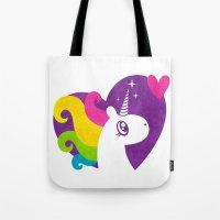 Unicorns Are Real! Tote Bag