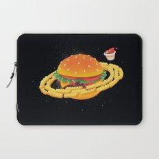 Galactic Cheeseburger & Fries Laptop Sleeve