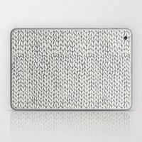 Hand Knit Grey Laptop & iPad Skin
