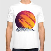 Stand on Europa Mens Fitted Tee White SMALL
