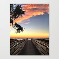 The Path to the Bright Side Canvas Print