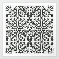 Indian Decorative Motifs… Art Print