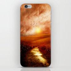 when the darkness, shine iPhone & iPod Skin