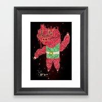 The Pig Framed Art Print
