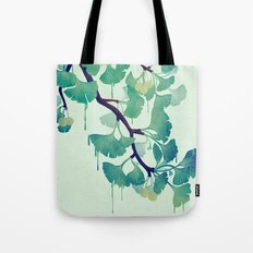O Ginkgo (in Green) Tote Bag