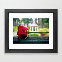 Last Rose Framed Art Print