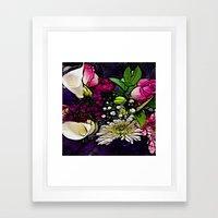 :: Bring Flowers :: Framed Art Print