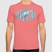 Canopy Mens Fitted Tee Pomegranate SMALL