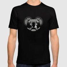 Koala-shirt Mens Fitted Tee Black SMALL