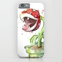iPhone & iPod Case featuring Piranha Plant by Olechka