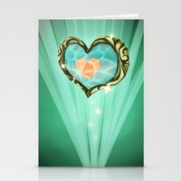Heart Container  Stationery Cards