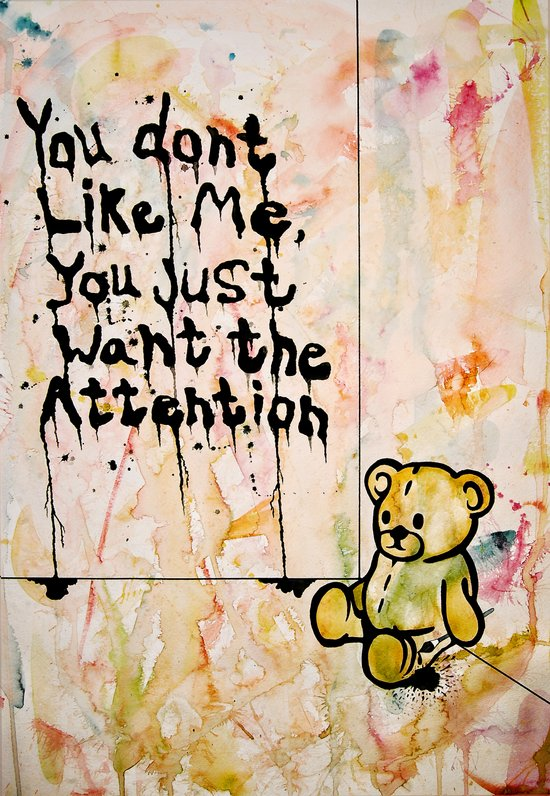 You don't like me. Canvas Print