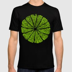 Lime Time Mens Fitted Tee Black SMALL