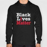 BLACK LIVES MATTER (inverse version) Hoody