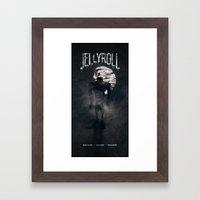 Jellyroll #12: Howlin' Framed Art Print