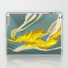 Abstract island Laptop & iPad Skin