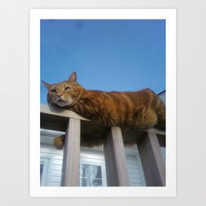 Good morning, Charlie! Art Print