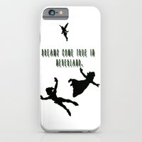 iPhone & iPod Case featuring Dreams Come True In Neverland. by ParadiseApparel
