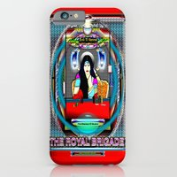 """iPhone Cases featuring Ti Vanna of """" THE ROYAL BRIGADE """" by KEVIN CURTIS BARR'S ART OF FAMOUS FACES"""