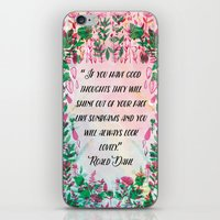 Roald Dahl iPhone & iPod Skin