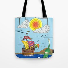 OLD BOY PIRATE Tote Bag