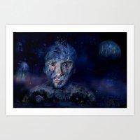 Dive ! Art Print