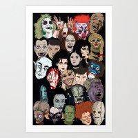 Halloween Gumbo Art Print