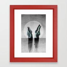 Experimental - Strange Waters Framed Art Print