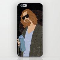 El Duderino iPhone & iPod Skin