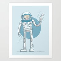 Cool huh? Art Print