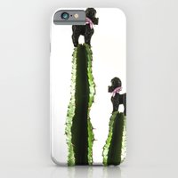 Poodle Cacti iPhone 6 Slim Case