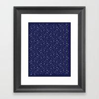 Deep Sea Life Framed Art Print
