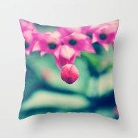 Sweet Flower Throw Pillow