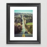 Spring Cruise Framed Art Print