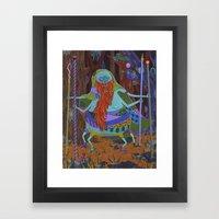The Spider Wizard Framed Art Print