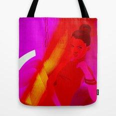 magenta baby Tote Bag