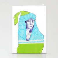 A Traveler  Stationery Cards