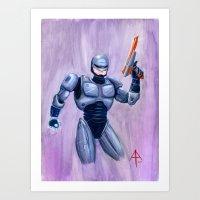 ROBcop Art Print