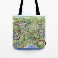 The Prisoner: The Village Portmeirion Tote Bag