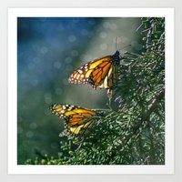 Monarch Moment Art Print