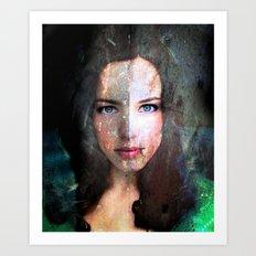 Celebrity Row - Rachel  Art Print