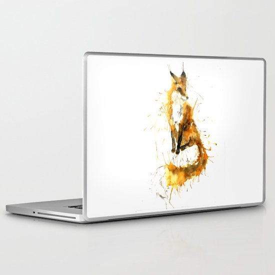 Bushy Tailed Laptop & iPad Skin
