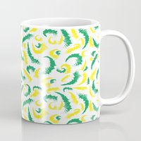Full Colours Green And Y… Mug