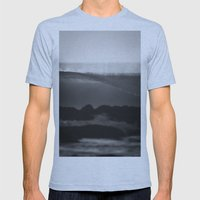 Evening Glass Mens Fitted Tee Athletic Blue SMALL