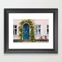 Bicycle. Framed Art Print