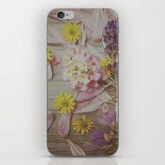 Vintage Floral Joy iPhone & iPod Skin