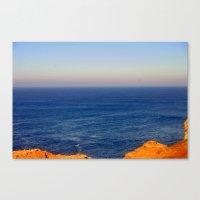 Beyond the blue Horizon Canvas Print