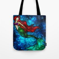 The Mermaids Song Tote Bag