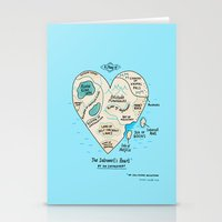 A Map Of The Introvert's… Stationery Cards